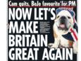 Verdeeldheid onder Britse volk over Brexit uit zich in krantenkoppen