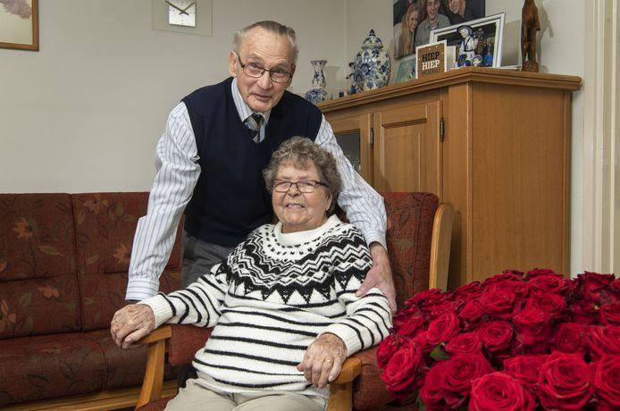 Bennie en Matje Zomer zijn 65 jaar getrouwd.