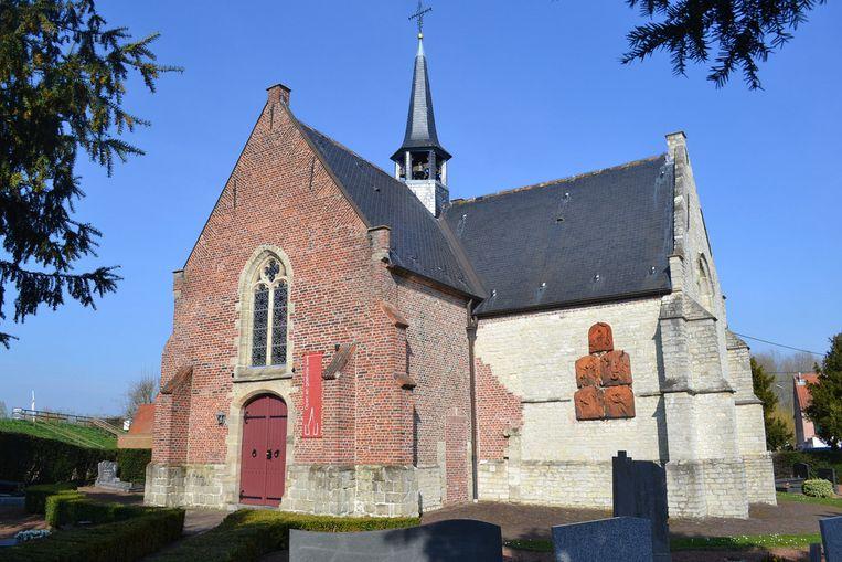 kerk Vlassenbroek in Baasrode.