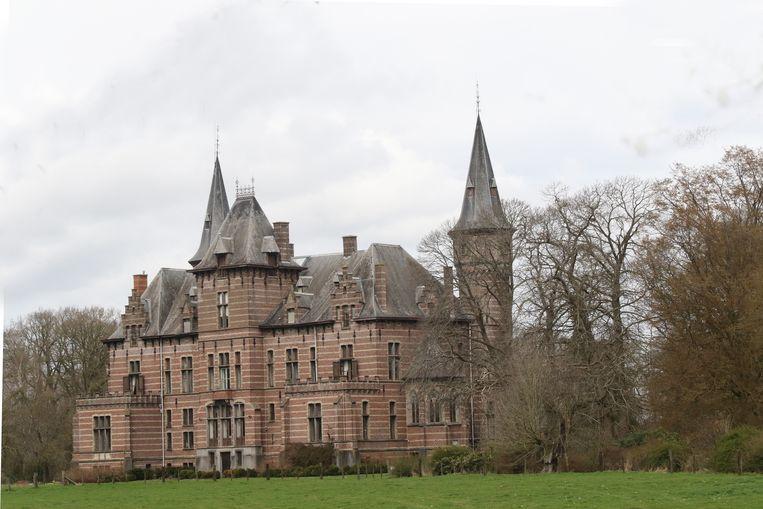 Het kasteel van Vlamertinge.