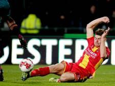 Teruggeknokte Julius Bliek mag blij zijn met punt tegen Jong Ajax