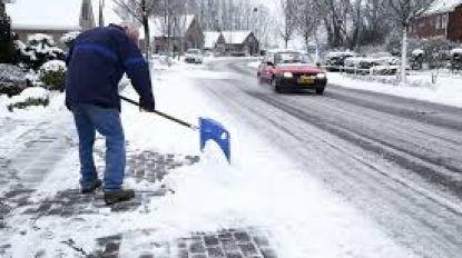 Zelf sneeuw ruimen te moeilijk? Bel de Sneeuwtelefoon