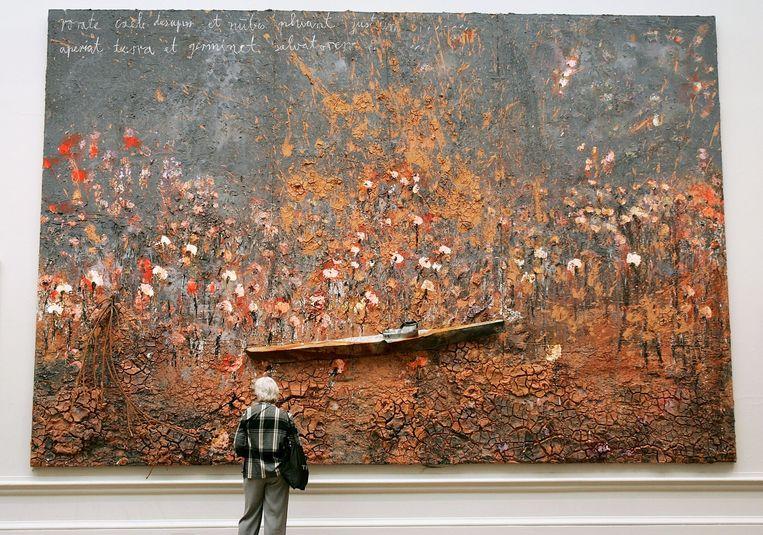 Schilderkunst: Anselm Kiefer. 'Prachtig, dat driedimensionale en de materialen waarmee hij werkt.' Beeld Getty Images