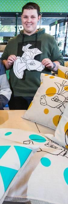 'Kussens voor Ikea, wat een eer!'