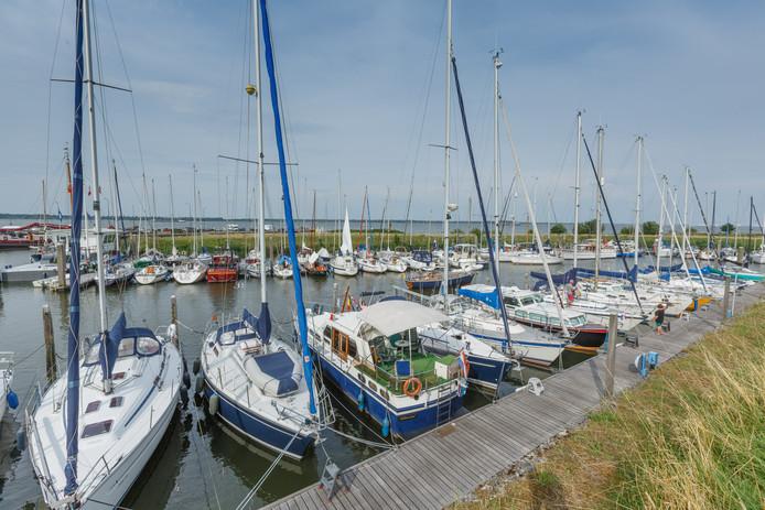 Jachthaven van Willemstad.