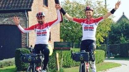 """KOERS KORT: De Gendt en Wellens hebben tocht van 1.000 kilometer afgerond: """"Herinneringen voor het leven"""""""