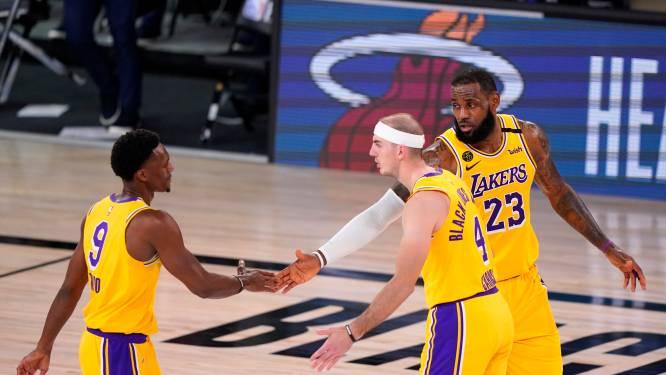 LA Lakers nog één zege verwijderd van NBA-finale, LeBron James kwam bijna tot triple double