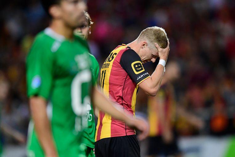 Storm ging onderuit met KV Mechelen.