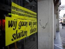 Zuidoost-Brabant kent weinig faillissementen, maar geen reden voor hosanna