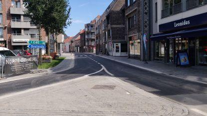 Centrum Gistel opnieuw toegankelijk met de wagen: wegenwerken ten einde