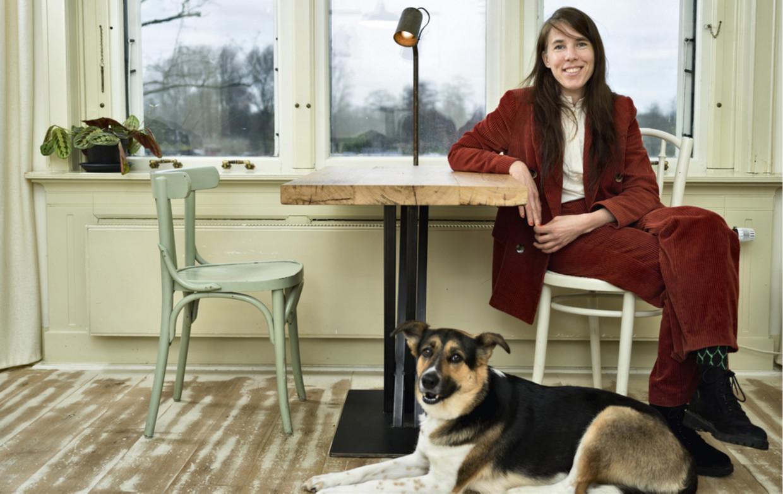 Eva Meijer: 'Eigenlijk is de wereld ongelofelijk mysterieus en heel mooi.' Beeld merlijn doomernik