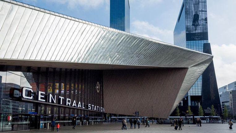 Het centraal Station van Rotterdam. Beeld anp