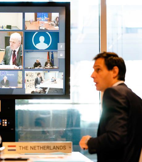 Geen akkoord Eurogroep over steunpakket van 540 miljard euro: Italië en Nederland onwrikbaar