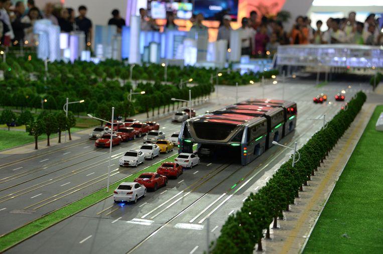 Een schaalmodel werd in mei 2016 voorgesteld in Peking.