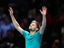 Belg Goffin stunt tegen Federer en bereikt finale ATP Finals