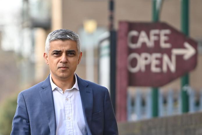 Sadiq Khan, maire de Londres.