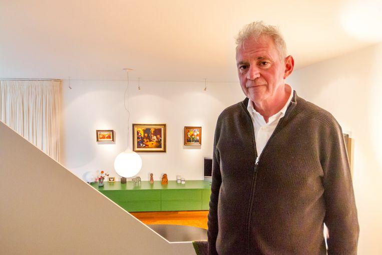Modewinkelier Pieter van Toor verzamelde zijn kunstcollectie met veel Toorops en Chabots in 25 jaar bij elkaar. Beeld null