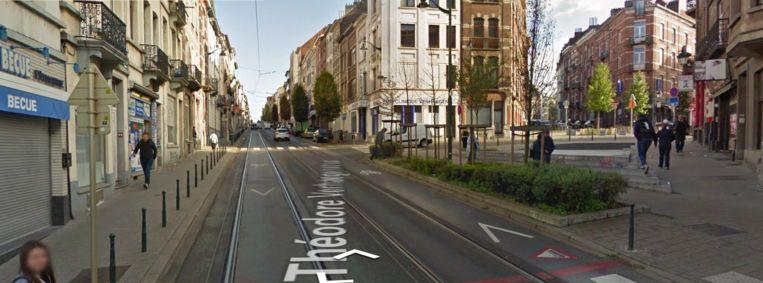 De Théodore Verhaeghenstraat.