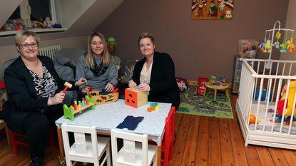 Zieke kindjes welkom in nieuwe crèche