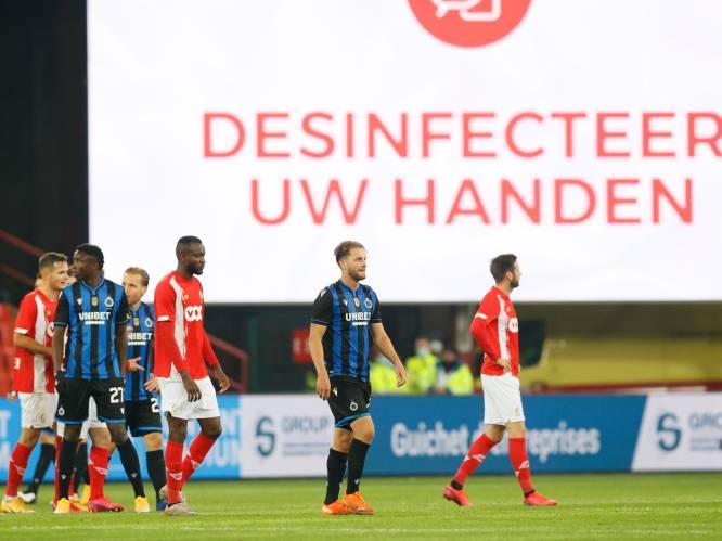 Testbeleid clubs verandert niet na kritiek expert: profvoetbal goed voor amper 0,3% van tests