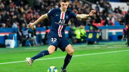 Geen zwanenzang in de Champions League: Meunier is van Dortmund en speelt niet meer voor PSG