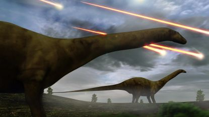 Planetoïde-inslag die dino's fataal werd, leert ons veel over de opwarming van nu