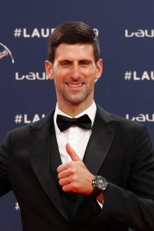 Biles en Djokovic in de prijzen bij Laureus Awards in Monaco