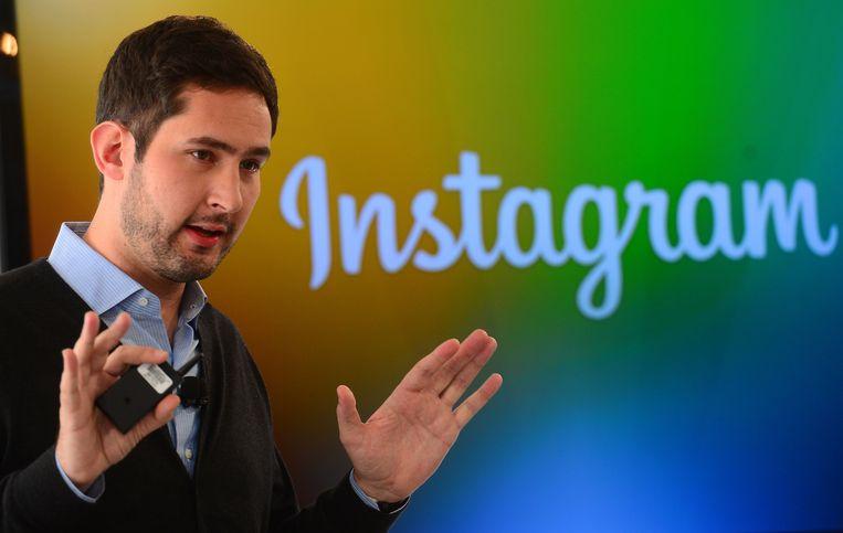 Instagram-oprichter Kevin Systrom in 2013 Beeld AFP