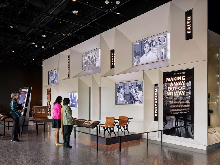 National Museum of African American History in Washington. Beeld credit verplicht: Alan Karchmer