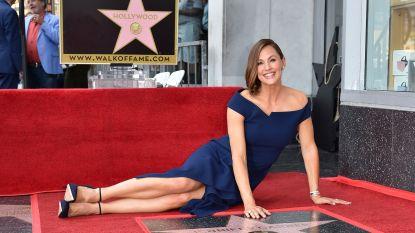 Emotionele onthulling van Jennifer Garners ster op Walk of Fame