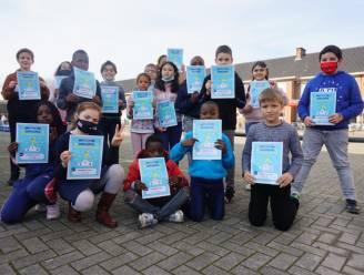 Leerlingen basisschool Atheneum leren beter cijferen tijdens tafelkampioenschap