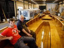 Rondvaartboten van Gieterse makelij in Zutphense wateren