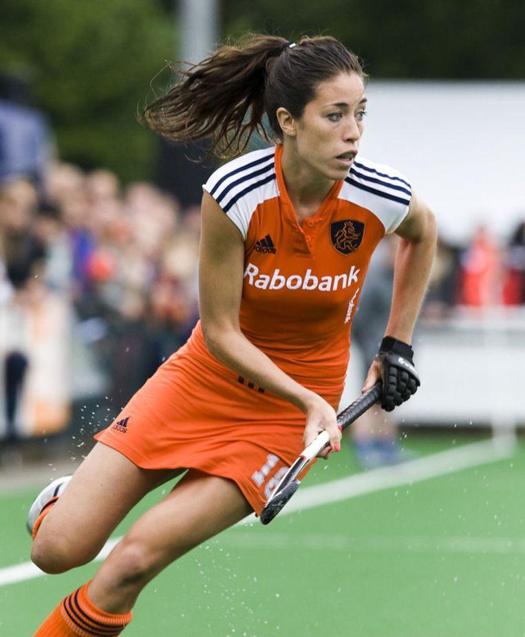 Naomi van As kan Speler van het jaar worden, een internationale erkenning. Foto ANP Beeld