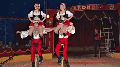 Circus Barones reist de wereld rond