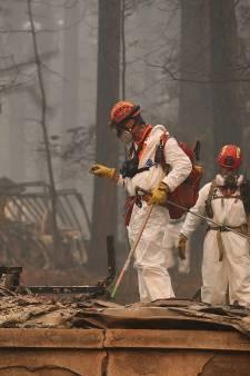 Dodental branden Californië loopt verder op, nog 600 vermisten