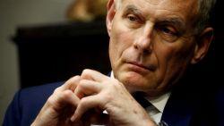 Stafchef John Kelly verlaat eind dit jaar Witte Huis