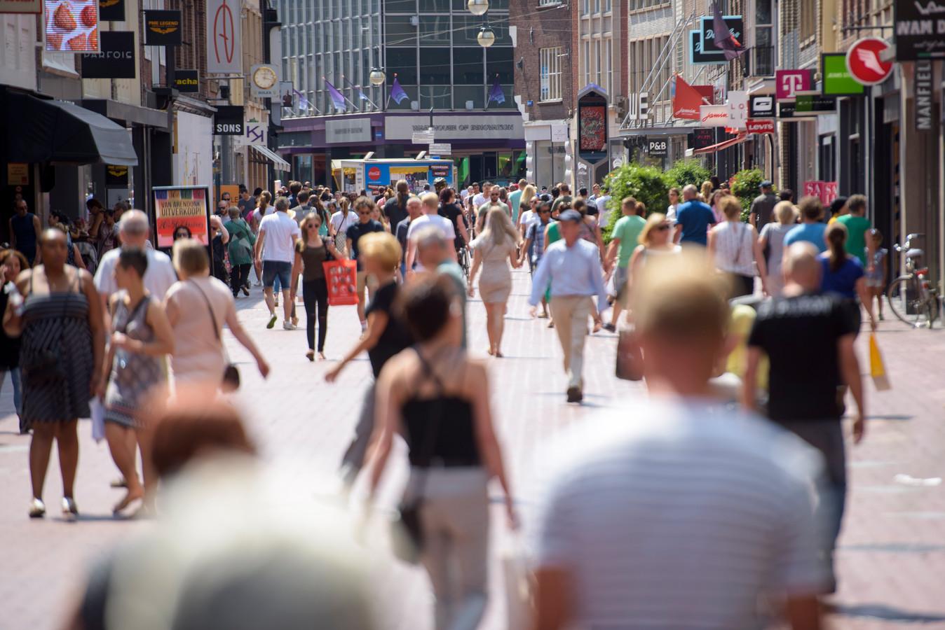 Eindhoven trekt veel bezoekers.