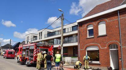 Jong koppel ontdekt brand in woonkamer bij thuiskomst