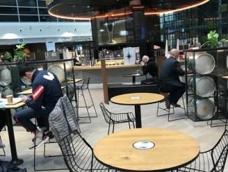 Dan toch niet tafelen op Zaventem, tenzij op locaties waar geen eten en drank geserveerd wordt