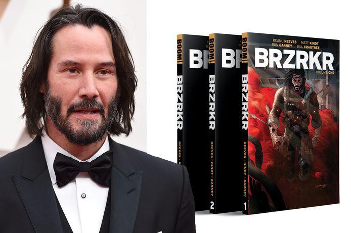 Keanu Reeves heeft een comic book gemaakt