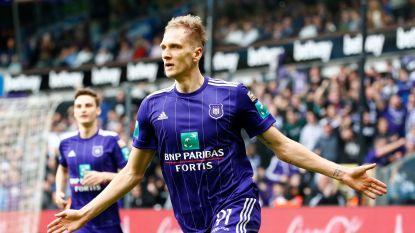 VIDEO: Anderlecht zwaait Vanden Stock uit met zege ondanks rode kaarten