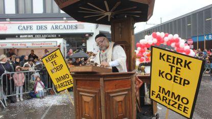 VIDEO. Carnaval Aalst: Heilig Hartkerk wordt per opbod verkocht