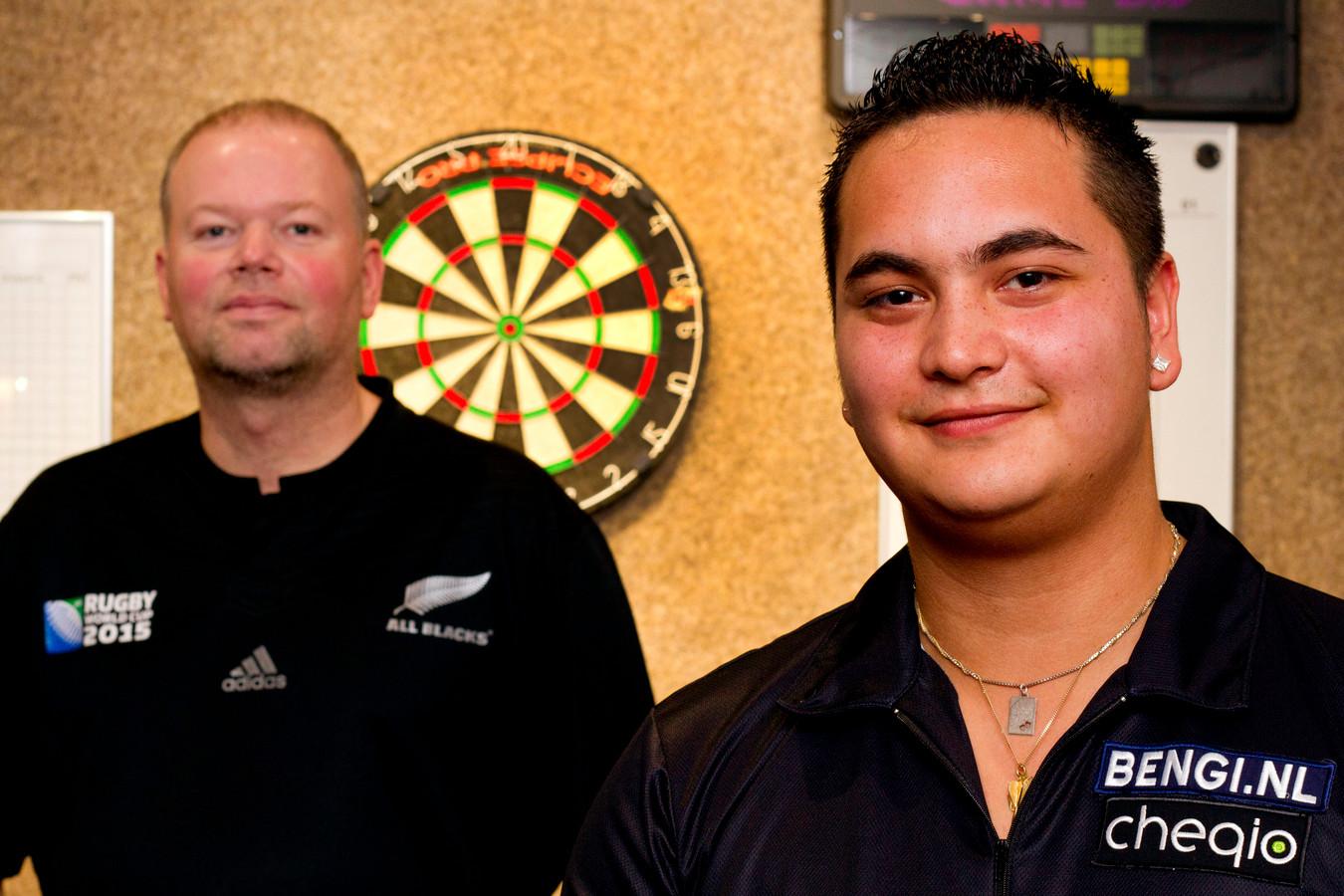 Jeffrey de Zwaan en Raymond van Barneveld.