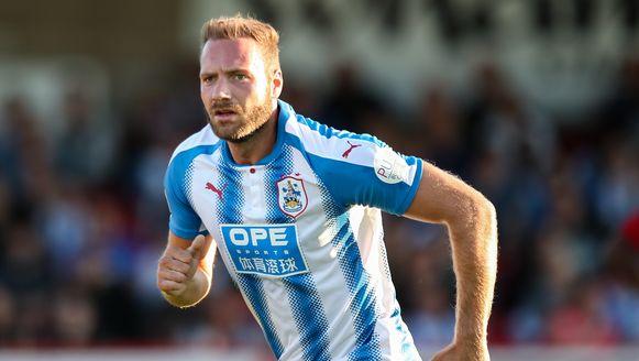 Laurent Depoitre maakte zijn debuut bij Huddersfield