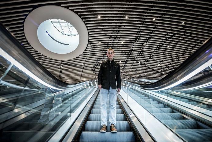 Het nieuwe station Delft maakt ook deel uit van de Spoorzone.