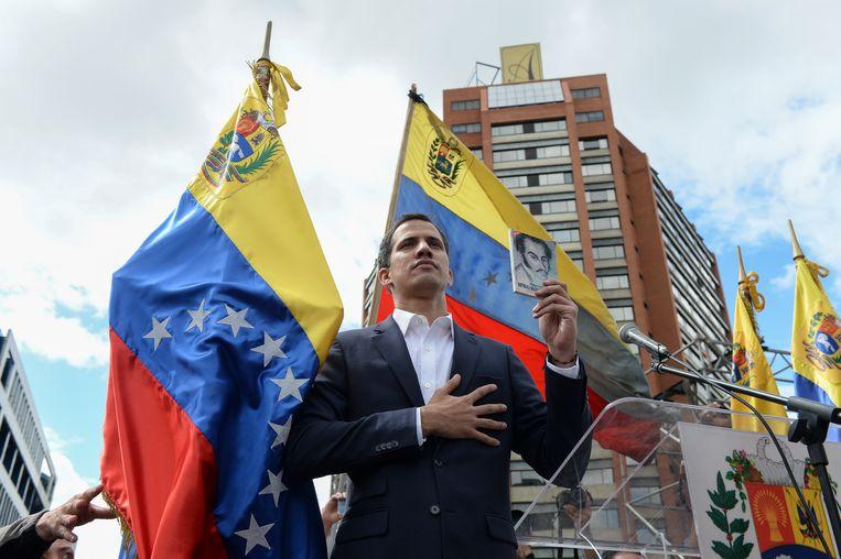Juan Guaidó Beeld AFP