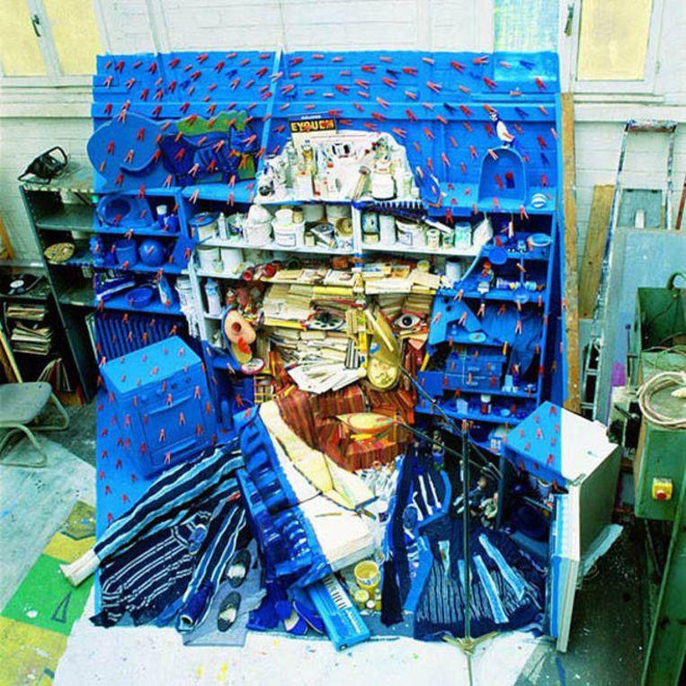Een zelfportret van Vincent Van Gogh