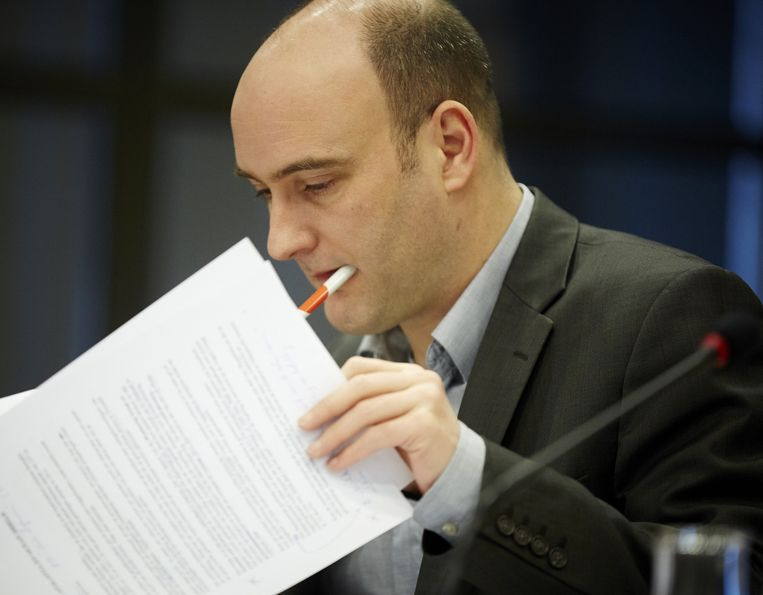 Jasper van Dijk (SP) Beeld anp