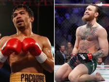 Conor McGregor wil dit jaar nog superclash met Manny Pacquiao