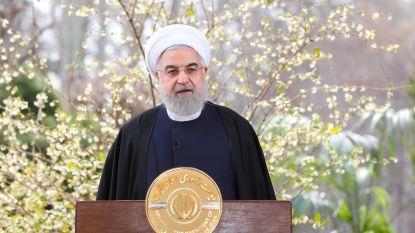 """Rouhani: """"Iran zal corona en Amerikaanse sancties overwinnen"""""""